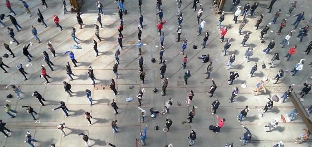 Tai Chi workshop voor 450 deelnemers