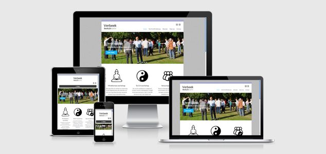 nieuwe website verbeek bedrijfstaichi
